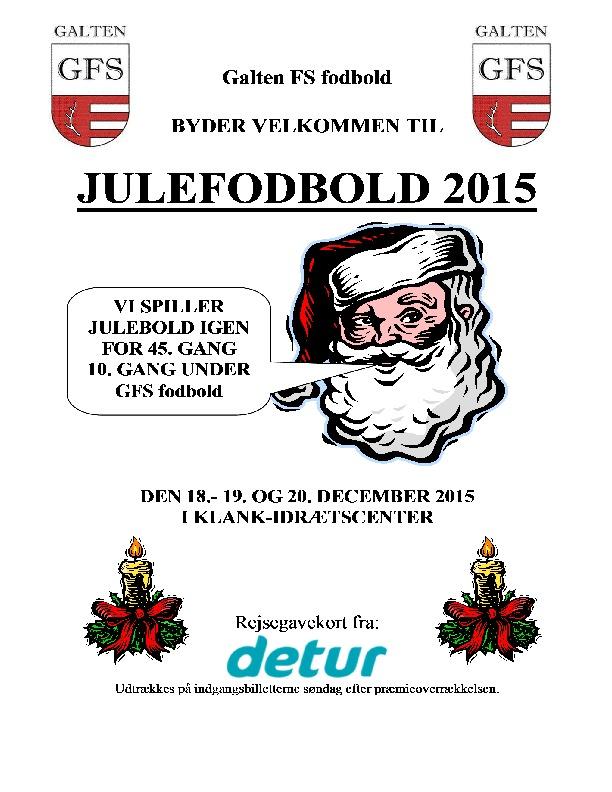 thumbnail of Julefodbold Program 2015