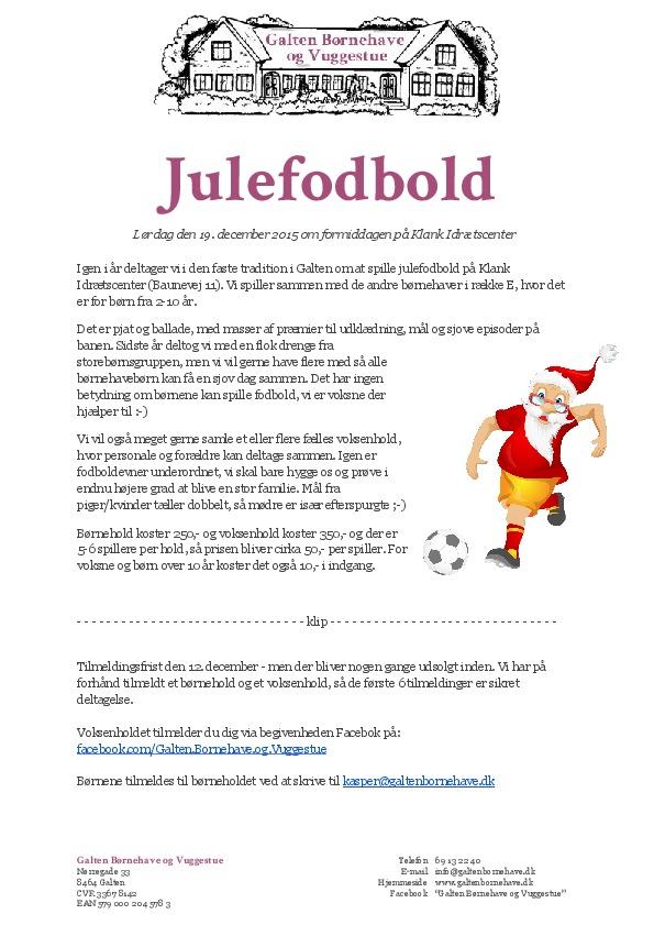 thumbnail of Julefodbold for børnehaven – GBV