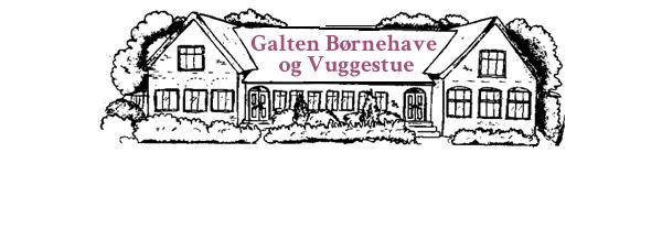 Galten Børnehave og Vuggestue logo